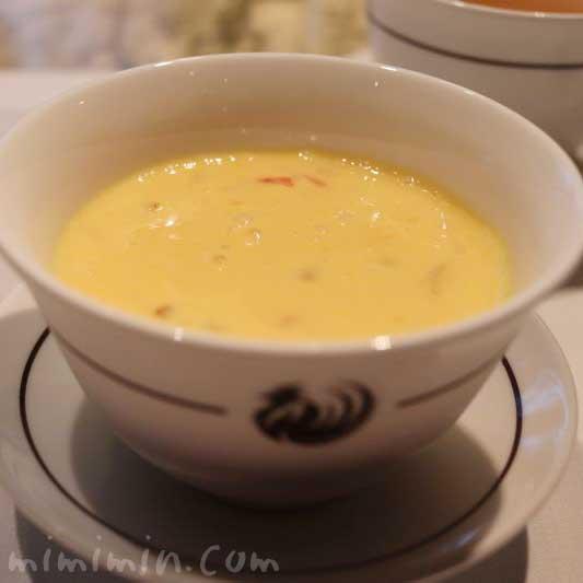 タピオカとグレープフルーツ入りマンゴークリームスープ  |サンデー点心アフタヌーンティー