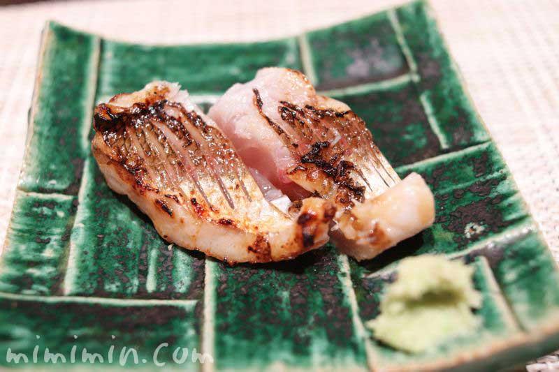 焼き魚|鮨 くりや川(寿司屋・恵比寿)の画像