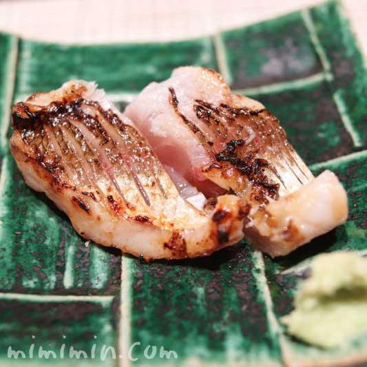 焼き魚|くりや川(寿司屋・恵比寿)