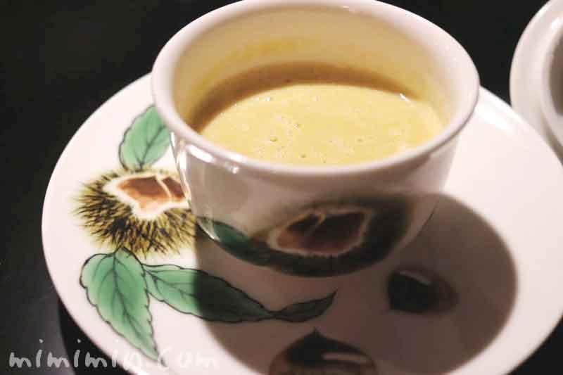 栗のスープ|銀座うかい亭のランチ