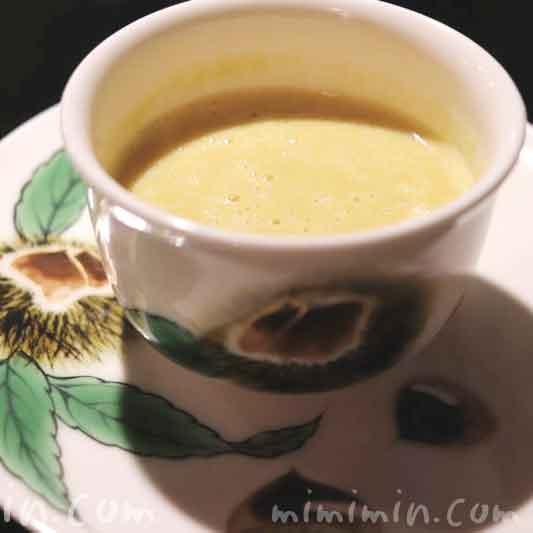 栗のスープ|銀座うかい亭のランチの写真