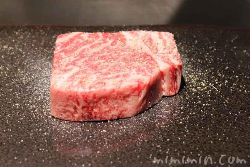 サーロインステーキ|銀座うかい亭のランチ