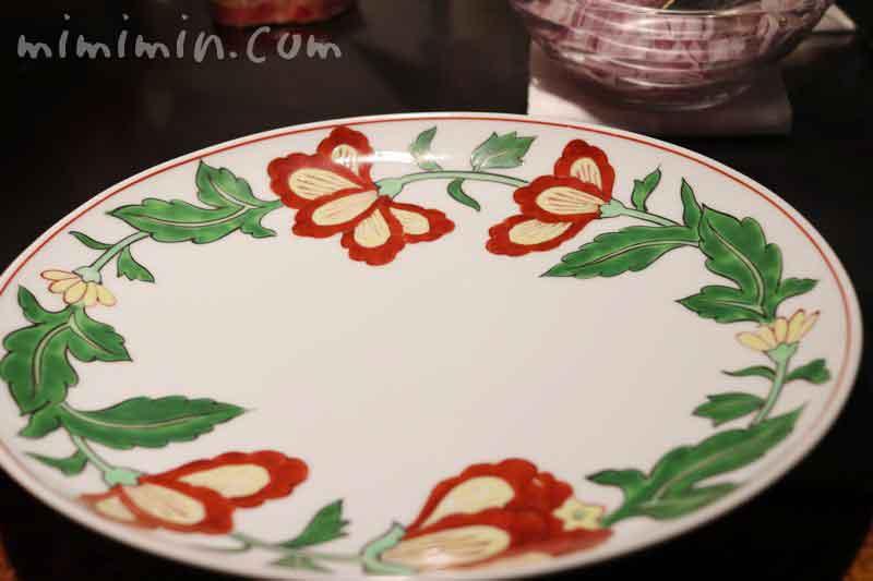 有田焼の皿|銀座うかい亭の画像