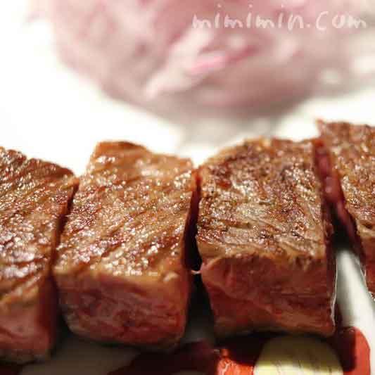 サーロインステーキ|銀座うかい亭の画像