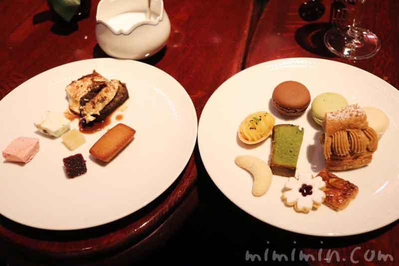 小菓子(プティフール)|銀座うかい亭のランチ