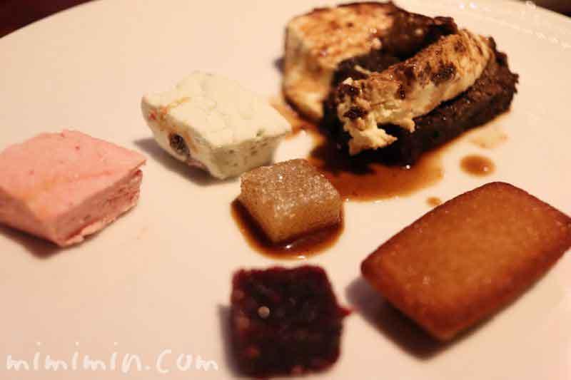 小菓子|銀座うかい亭のランチの写真