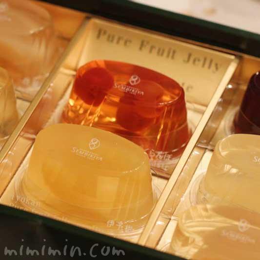 千疋屋総本店のピュアフルーツジェリーの画像