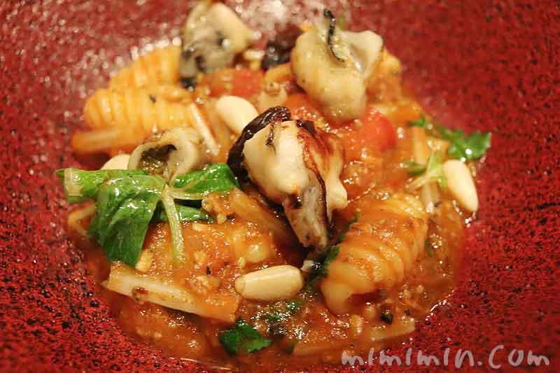 牡蠣のアッラビアータ|イル テアトリーノ ダ サローネ|広尾の写真