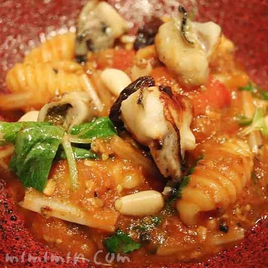 牡蠣のアッラビアータ|イル テアトリーノ ダ サローネの画像