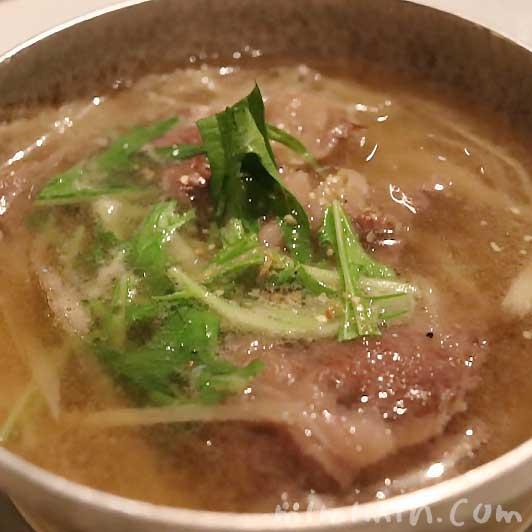 すだち (Sudachi) のランチ|肉のスープ