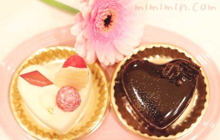 ロブションのショートケーキの画像
