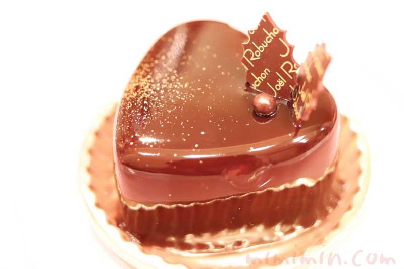 ジョエルロブションのショートケーキ「ショコラバニーユ」(クリスマスバージョン)
