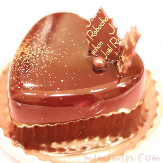 ジョエルロブションのショートケーキ「ショコラバニーユ」