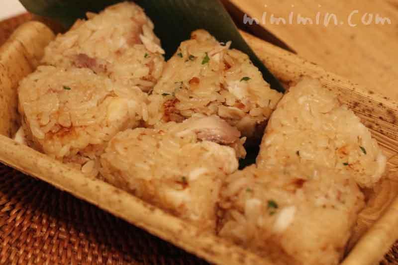 鯛御飯のおにぎり(和の食いがらし・恵比寿の日本料理店)の画像