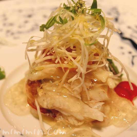 魚料理|レストランひらまつのランチ|広尾の画像
