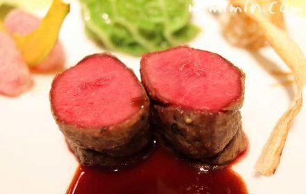 蝦夷鹿のロースト|レストランひらまつのランチ|広尾のフレンチの画像