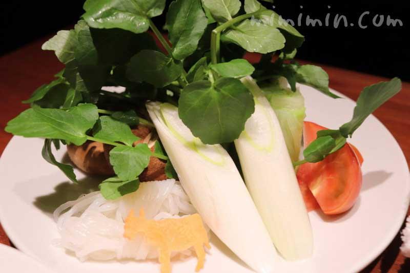今福のすき焼きの野菜の画像