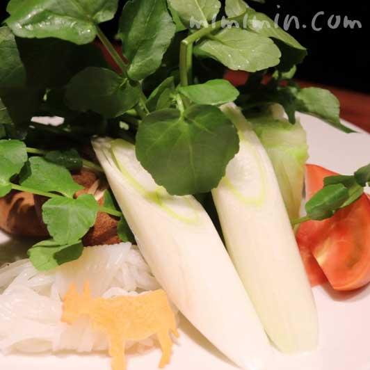 今福のすき焼きの野菜