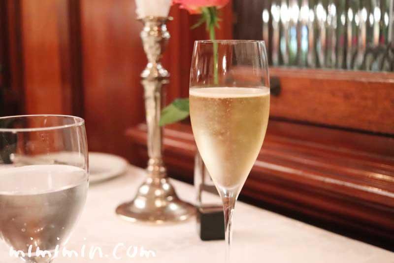 シャンパン|マダム・トキ(代官山のフレンチ)のディナー