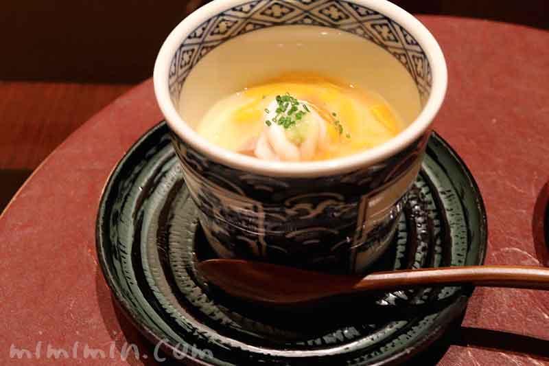 先附  雲子の玉〆 菊花 浅葱 山葵|日本料理 和田倉のランチ|パレスホテル東京の写真