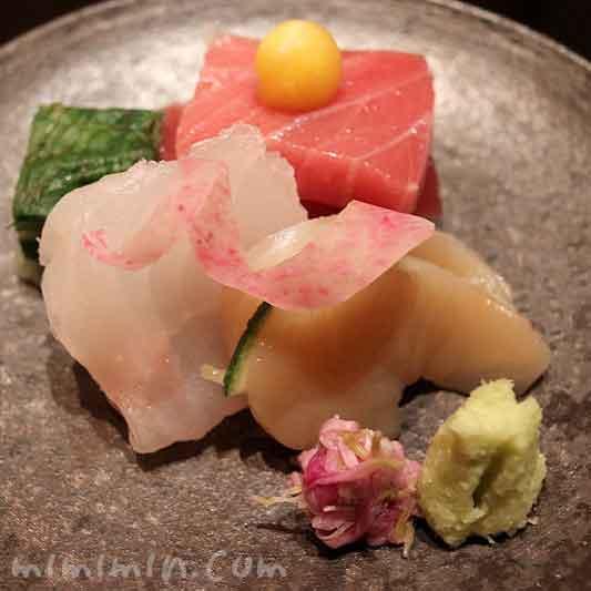 向付  本日の割鮮|日本料理 和田倉|パレスホテル東京の画像
