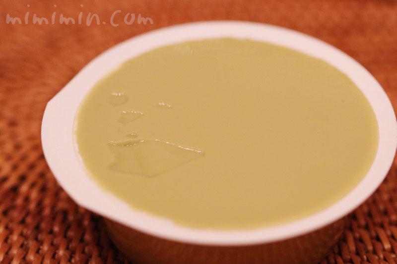 京みがわの京のお抹茶プリンの写真