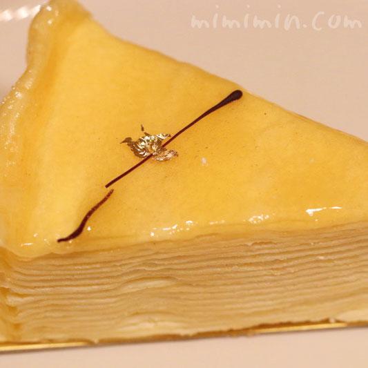 金のなめらかミルクレープ|アンリ・シャルパンティエのケーキの画像