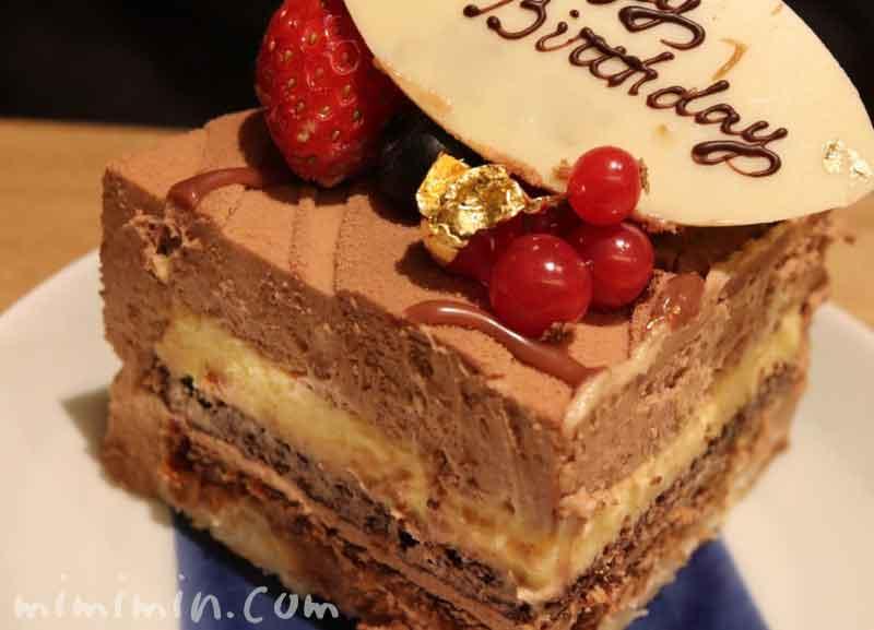 ジョエルロブションのバースデーケーキの画像