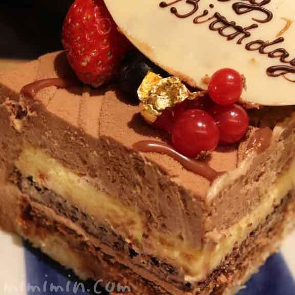 ロブションのバースデーケーキ