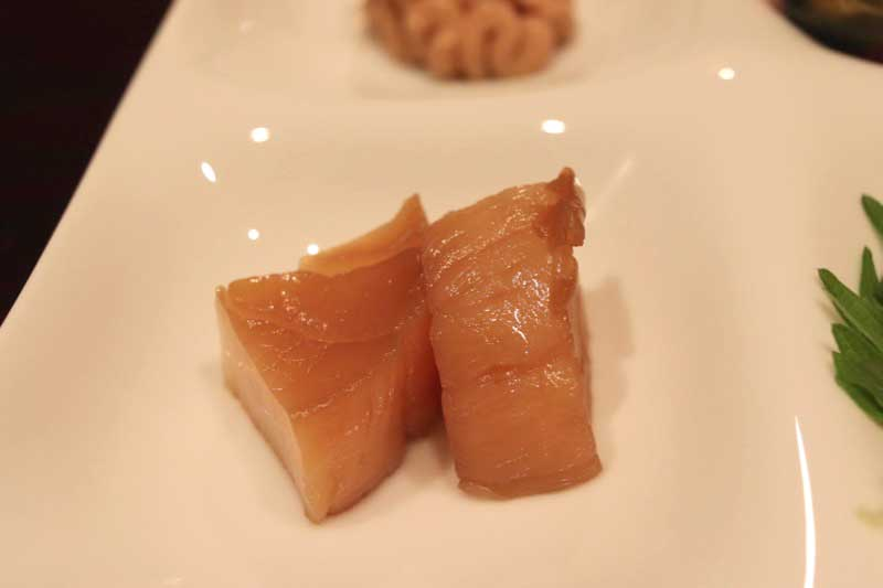 翁(おきな)の蕎麦懐石の前菜|恵比寿の画像