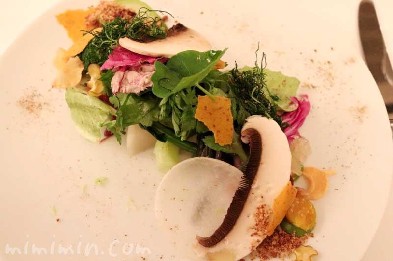 サラダ|リストランテセンソ|白金台のイタリアンの写真
