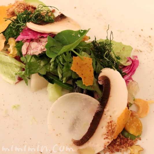サラダ|リストランテセンソ|白金台の画像