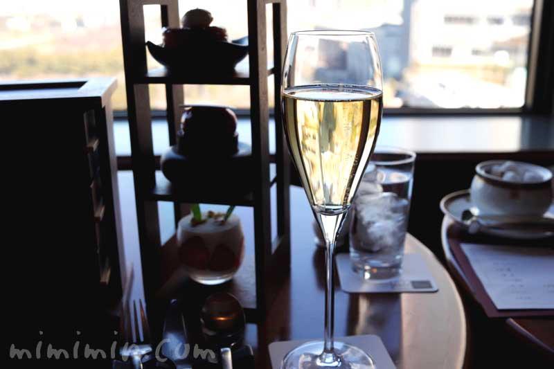 シャンパン|帝国ホテル東京|インペリアルラウンジ アクアの画像