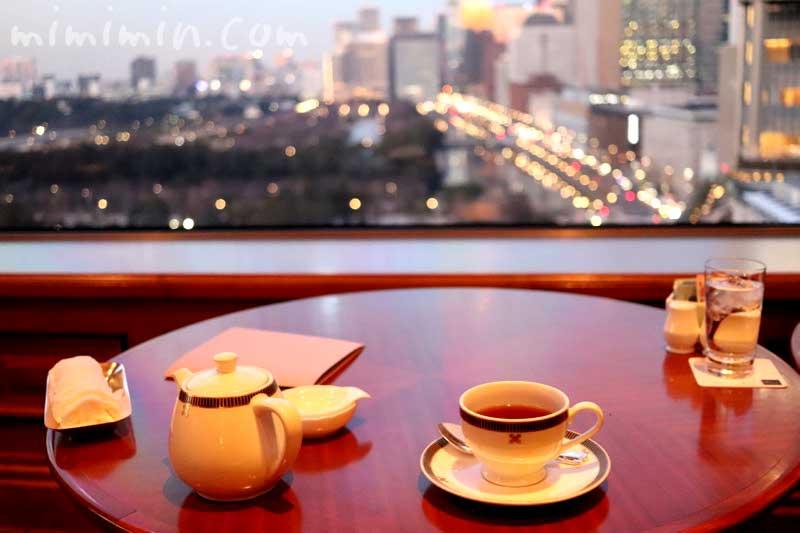 帝国ホテル東京|インペリアルラウンジ アクアからの夜景の画像