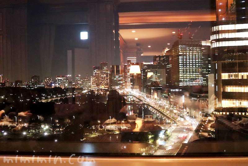 インペリアルラウンジ アクアからの夜景の写真