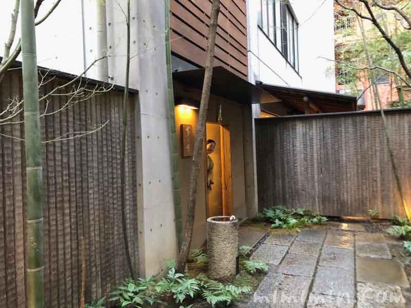 赤坂 菊乃井のディナーの画像
