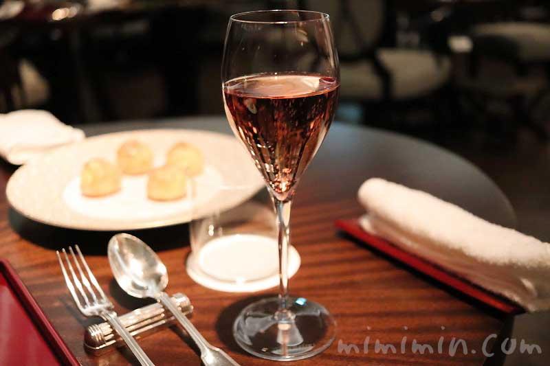 ドラモット・ブリュット・ロゼ|シャンパン|レストランひらまつのディナーの画像