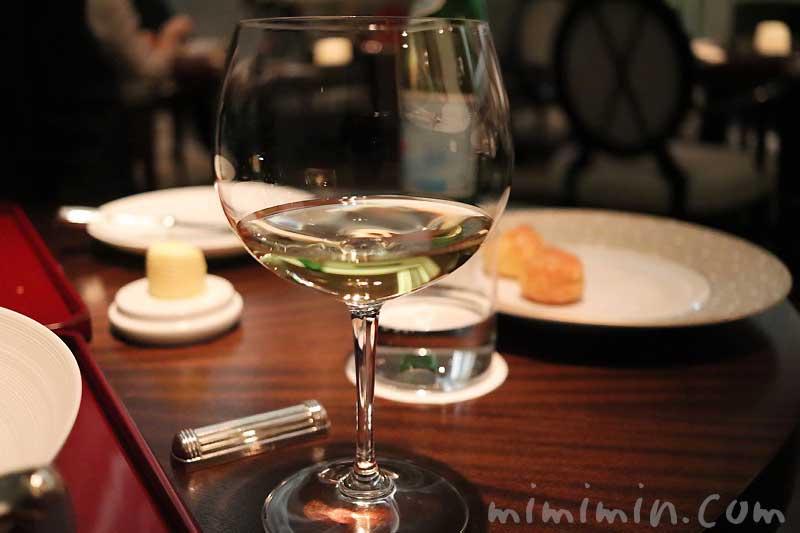 白ワイン|レストランひらまつのディナー|広尾のフレンチの画像