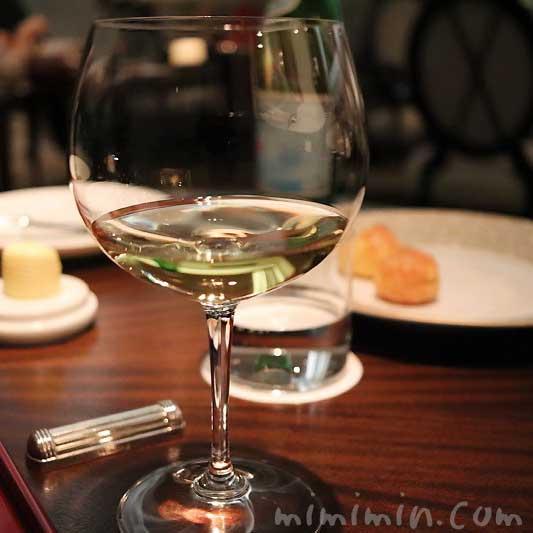 白ワイン|レストランひらまつのディナー|広尾の画像