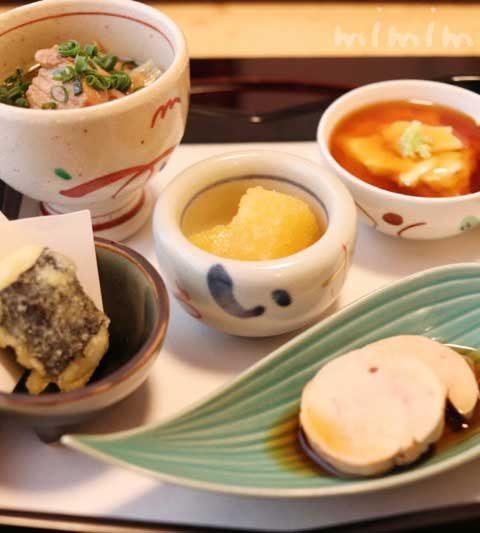 温故知新の個室でランチ|恵比寿の日本料理・懐石料理