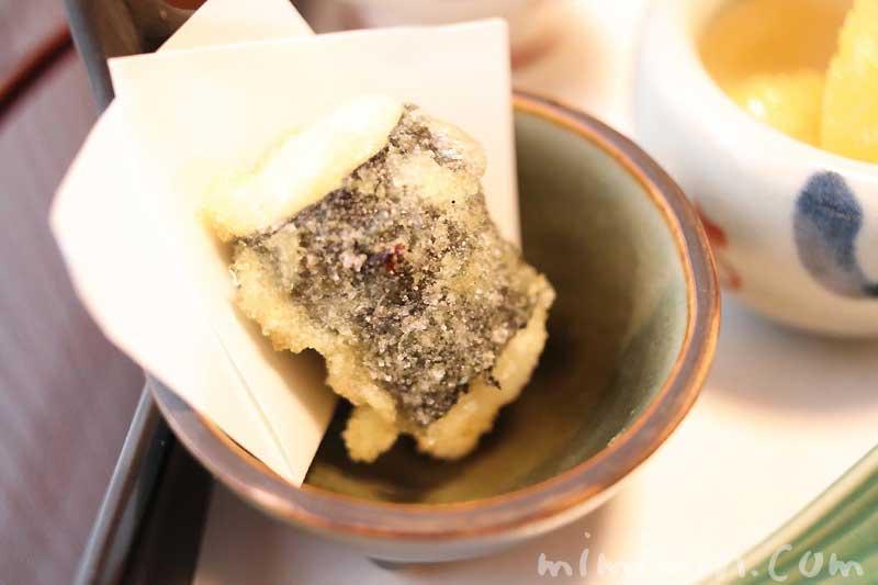 白子磯辺揚げ|温故知新(恵比寿)|日本料理・懐石料理の画像