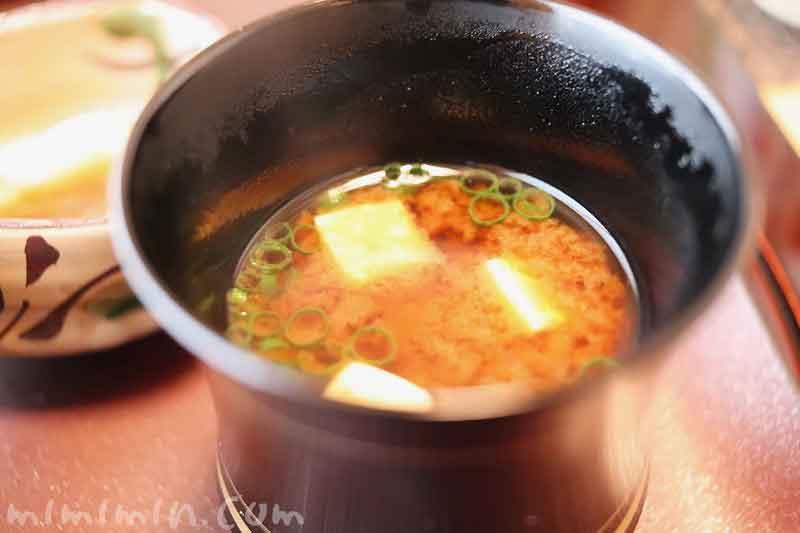 味噌汁|温故知新(恵比寿)ランチ|日本料理・懐石料理の画像
