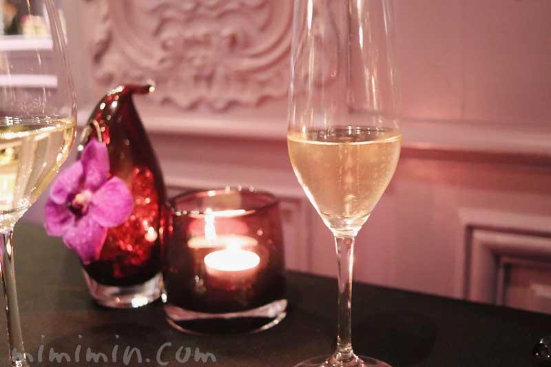 シャンパン|ラ ターブル ドゥ ジョエル・ロブションのディナー&フリーフローの画像