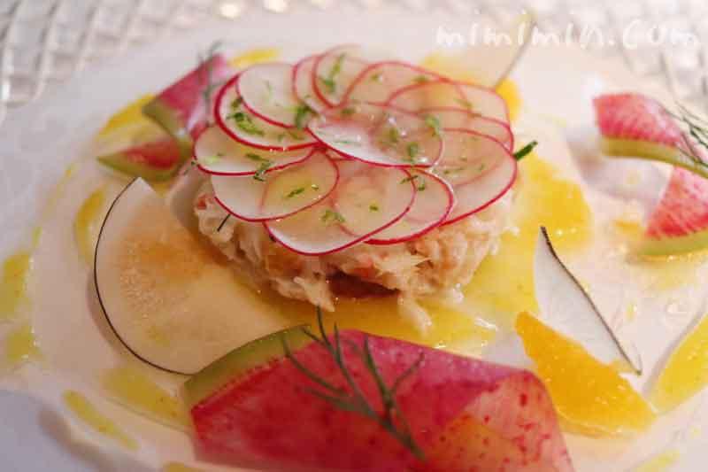前菜|レストラン パッションの個室でランチ |代官山フレンチの写真