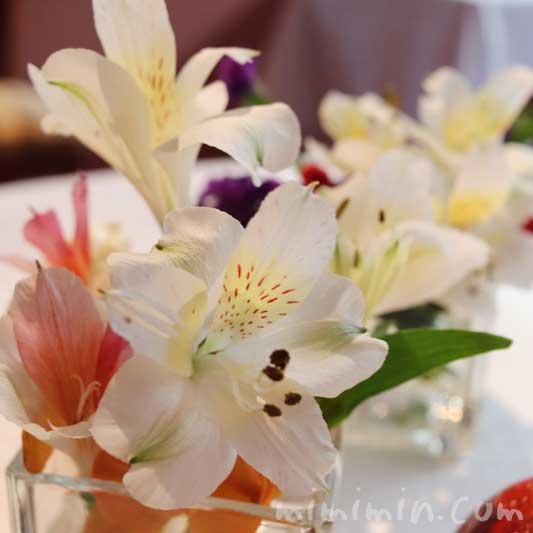 レストラン パッションの個室のお花|代官山の画像