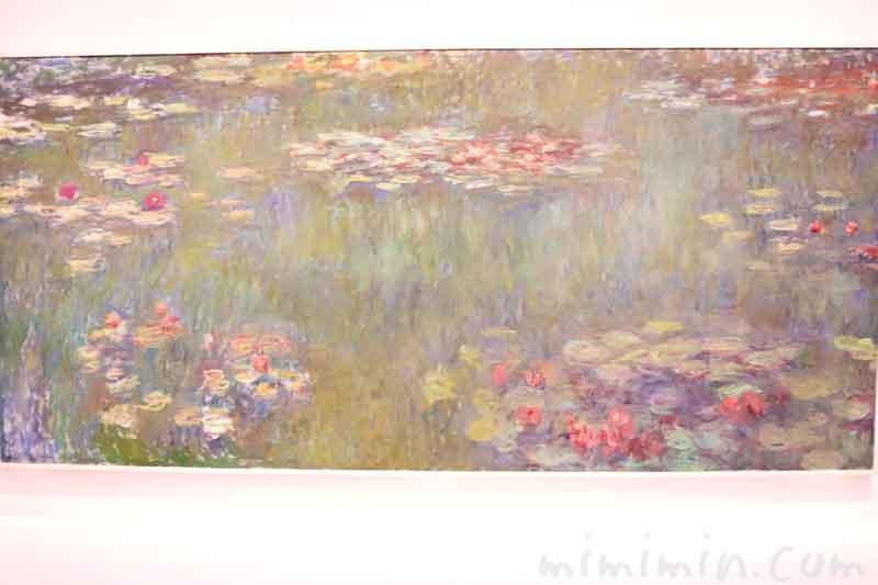 モネ『睡蓮の池、緑の反映』の画像