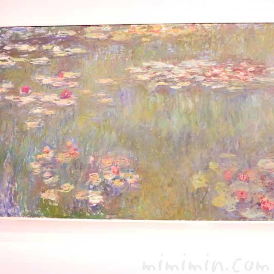 モネ『睡蓮の池、緑の反映』