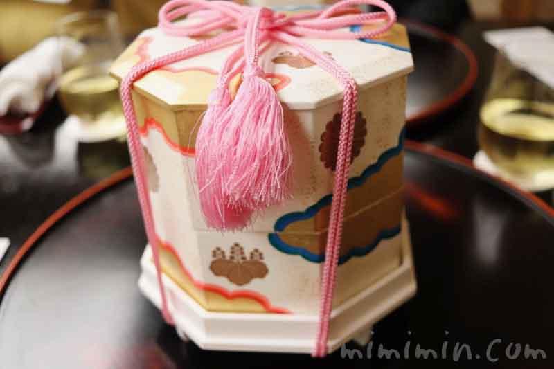 赤坂 菊乃井の夜懐石の八寸の写真