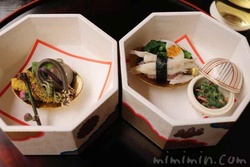 八寸|赤坂 菊乃井の懐石(京料理)の写真