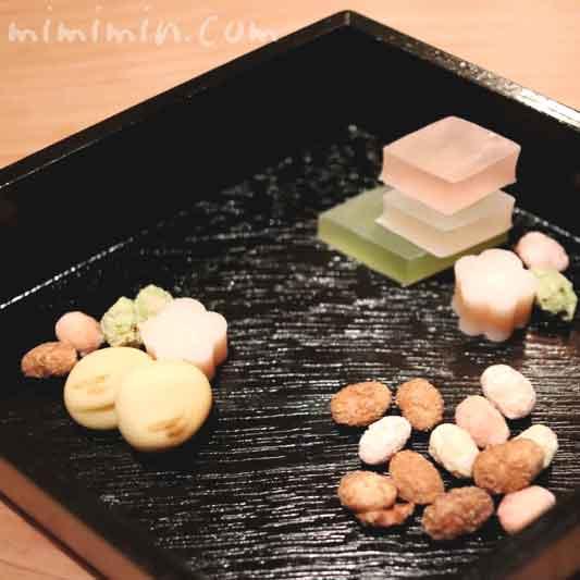 干菓子|恵比寿 くろいわ|懐石料理の画像